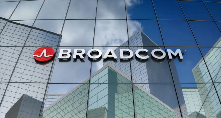 broadcom-logo-on-window